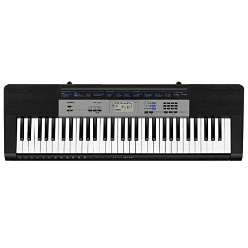 Casio CTK- 1500 - Keyboard, color Negro
